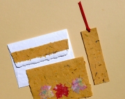 Greeting Card and Matching Envelope with Bookmark