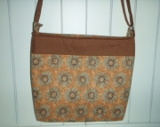 Tuscan Sunflower cross body bag (L)