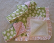 Baby Blanket Set Sweet Pea