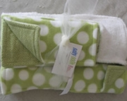 Baby Blanket Set Safe With Sage