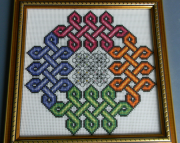 Celtic Twizzle Cross Stitch
