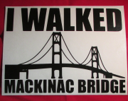 I Walked Mackinac Bridge