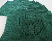 2 Dishcloth Knitted Tulip Dark Pine