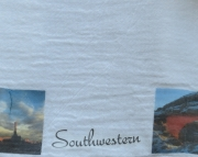 Kitchen Cotton Towel with South West Theme  Set of 2