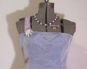 One Strap Upcycled Prom Dress