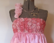 Pink Froth Dress