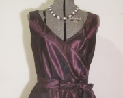 Eggplant Formal Dress
