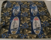 Elvis Blue Hawaii Tropical Apron