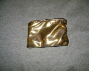Gold metallic bag