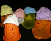 Crocheted Baby Baseball Cap