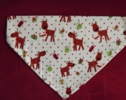 Reindeer Over the Collar Bandana-l