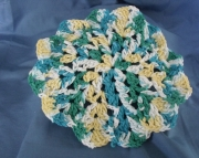 Flower Dish Cloth