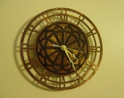 Metal Lace Clock large