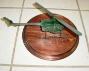 Helicopter 3D Metal Art PROTOTYPE