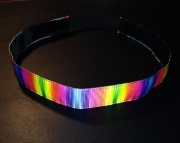 Neon Rainbow No Slip Headband