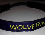 University of Michigan Wolverines No Slip Headband