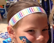 Chevron No Slip Headband