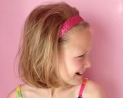 Glitter Solid No Slip Headband
