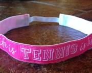 Life is Tennis is Life No Slip Headband