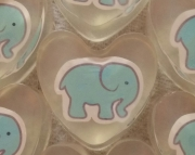 10 Baby Elephant Shower Favors Teal Blue