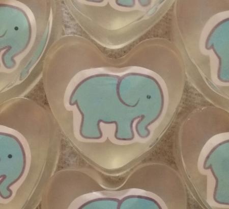 10 Baby Elephant Shower Favors Teal Blue