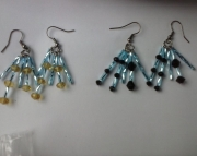 Tubed Glass Earrings