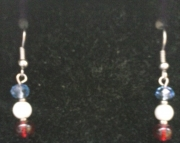 USA Themed Earring