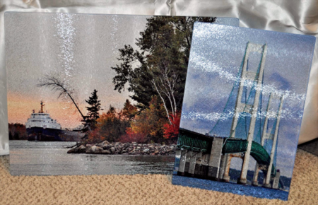 Glass Photo Cutting Board 8 X 11