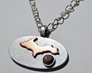 Upper Peninsula pendant