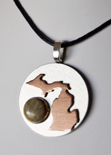 Large Michigan Pendant