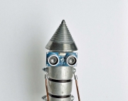 cone head robot dude