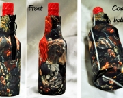 10 zippered bottle koozies insulators coolies cozy custom photo