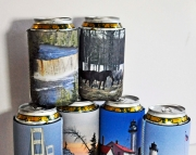 12 neoprene can koozies custom photo images coolies insulators