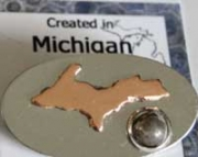 Upper Michigan Pin
