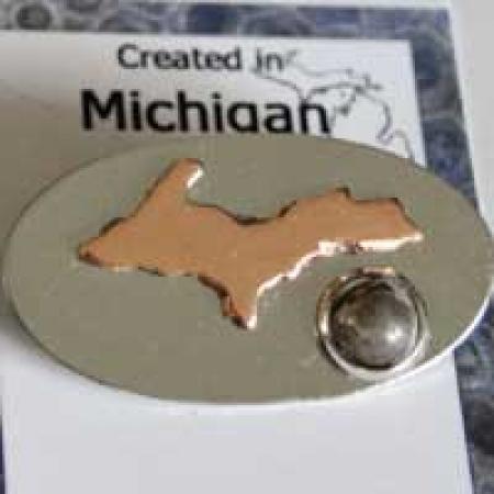 Upper Michigan Pin