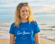 Gone Beachin Script Tshirt