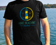 Gone Beachin' Unsalted Logo T-Shirt