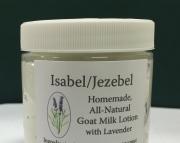 IsabelJezebel Lavender Goats Milk Lotion