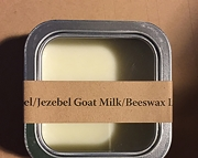 IsabelJezebel Goat Milk and Beeswax Lip Balm