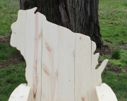 Wisconsin Adirondack Chair