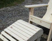 Adirondack Footstool