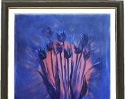 Black Tulips 1 5 X 7 Print