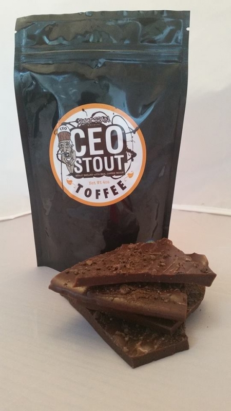 Right Brain CEO Stout Toffee
