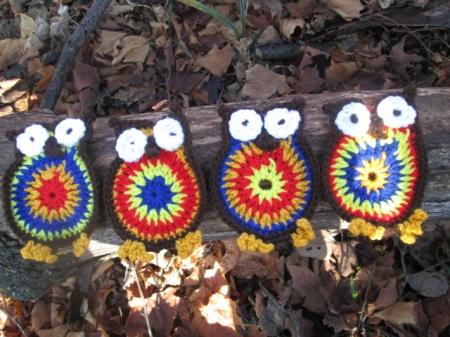 Owl Coaster Set