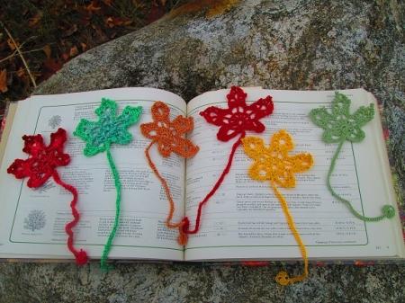 Autumn Leaf Bookmark