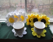 Sunflower or Daisy Coasters