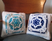 Heirloom Snowflake Pillow
