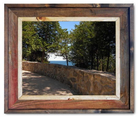 Canvas Print Arch Rock Stone Wall