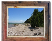 Canvas Print Mackinac Island Shoreline