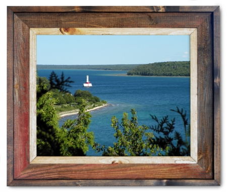 Canvas Print Mackinac Straits